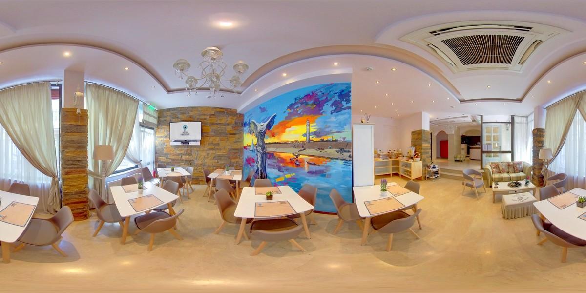 Παραγωγή Παρουσίασης  Virtual Tour & Photos 360o  του  LightHouse City Hotel