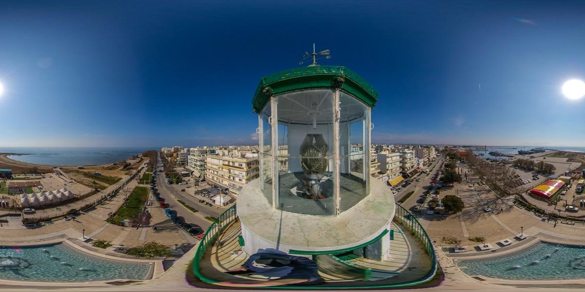 Παραγωγή Σφαιρικού VR Video 360o Παρουσίασης του Φάρου Αλεξανδρούπολης