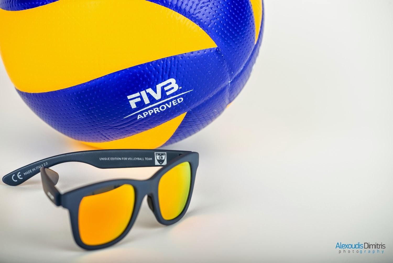 Επίσημη παρουσίαση των γυαλιών ηλίου του Εθνικού Αλεξανδρούπολης Volleyball Team
